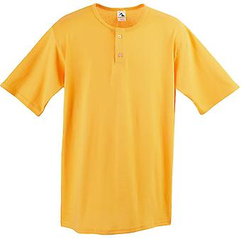 Augusta 581 Youth Two-Button Baseball Jersey