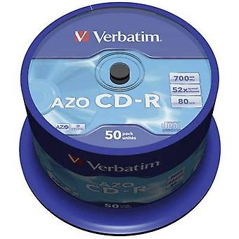 Blank CD-R 700 MB Verbatim 43343 50 pc(s)