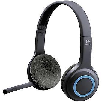PC headset USB Cordless, Stereo Logitech H600 On-ear Black
