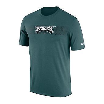 Nike НФЛ Филадельфия Иглз Сайдлайн сейсмических легенда производительности футболку