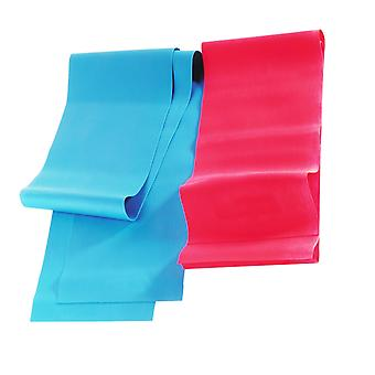 Fitness Resistance Bands 2 Pieces | Training Muscles Fitness Strength At Home/ Gym Equipment