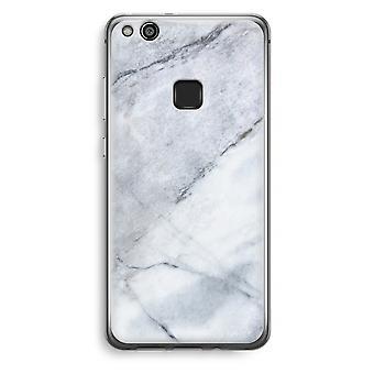 Huawei Ascend P10 Lite caja transparente (suave) - blanco de mármol