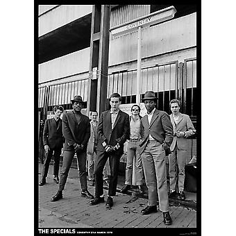 Specials Coventry Coventry 1979 Poster Poster Print