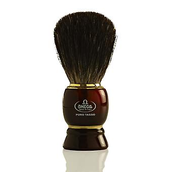 Omega 63185 Pure Badger cabelo Shaving Brush
