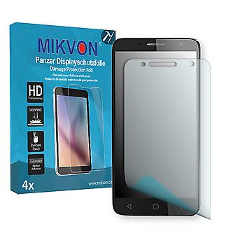 Alcatel Pop 4+ Screen Protector - Mikvon Armor Screen Protector (Retail Package with accessories)