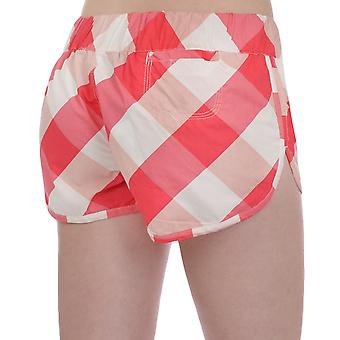 Mckenzie Fraya Womens Ladies Checked Beach Board Hot Pants Shorts