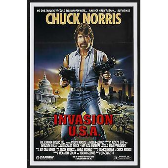 Invasion USA filmaffisch (11 x 17)