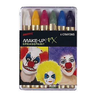 Smiffy's Carnival Greasepaint Crayons