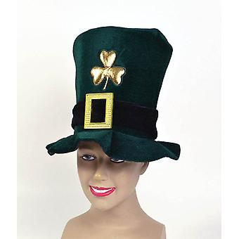 Ierse hoed. Velvet, groen.