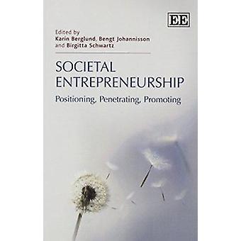 Gesellschaftlichen Entrepreneurship - Positionierung - durchdringend - Förderung von K