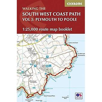 South West Coast Path Map Booklet - Plymouth to Poole - 1 -25 -000 OS R