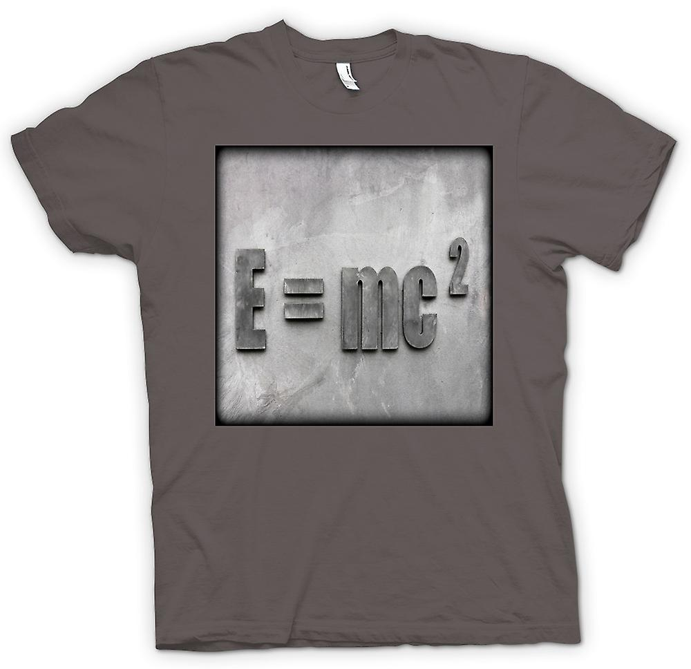 Womens T-shirt-Einstein E = MC2