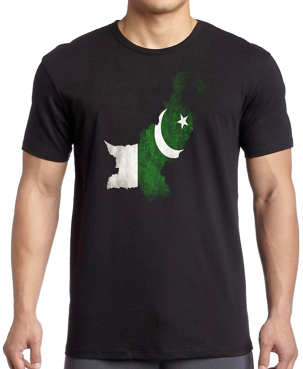 Pakistan Flag mappa Kids T Shirt