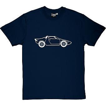 Lancia Stratos Herren T-Shirt