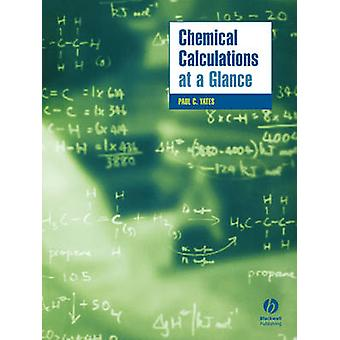 Chemical Calculations at a Glance by Paul Yates - 9781405118712 Book