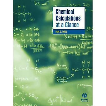 Chemische berekeningen in één oogopslag door Paul Yates - 9781405118712 boek