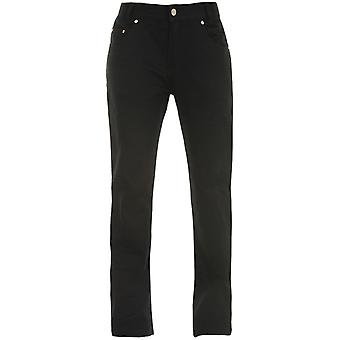 Bull-It Black Ebony Easy SR6 - Regular Womens Motorcycle Jeans