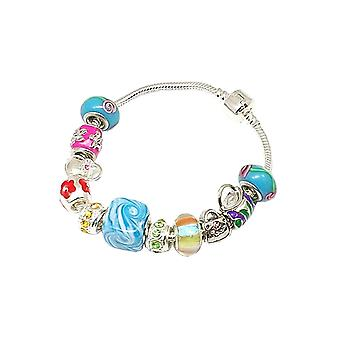 Toc Beadz Summer Crystal Handbag Bead Bracelet