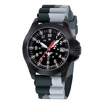 KHS Montres mens watch noir peloton LDR KHS. BPLDR. DC1