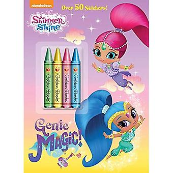 Genie magie! (Shimmer en glans) (Kleur Plus kleurpotloden en Sticker)