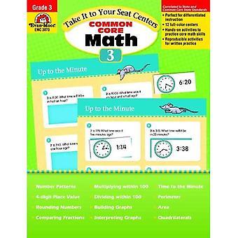 Ta den till din Seat Math Centers, grad 3