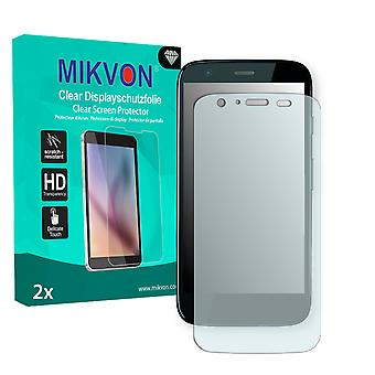 Motorola XT939G Screen Protector - Mikvon Clear (Retail Package with accessories)