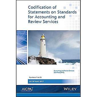 Codificazione delle dichiarazioni sulle norme per la contabilità e servizi di Revisione: numeri 1-23