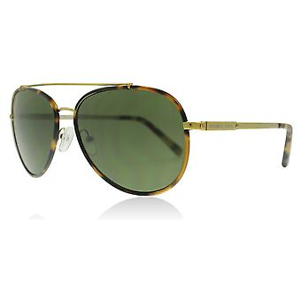 Michael Kors MK1019 116371 Tokio Tortoise/Gold-Ton Ida Piloten Sonnenbrille Objektiv Kategorie 3 Größe 59mm