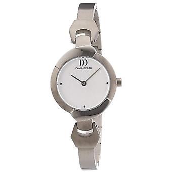 Danish Design 3326592-Armbanduhr, Titan, Farbe: Silber