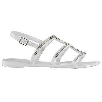 SoulCal Womens Jelly  3 Strap Sandals Ladies