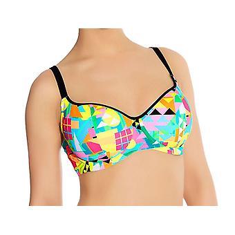 Freya Tribal Trax As3791 Wp Underwired, Padded Sweetheart Bikini Top