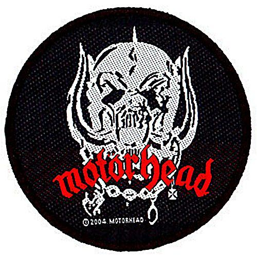 Motorhead Warpig Skull round sew-on cloth patch  (mm)