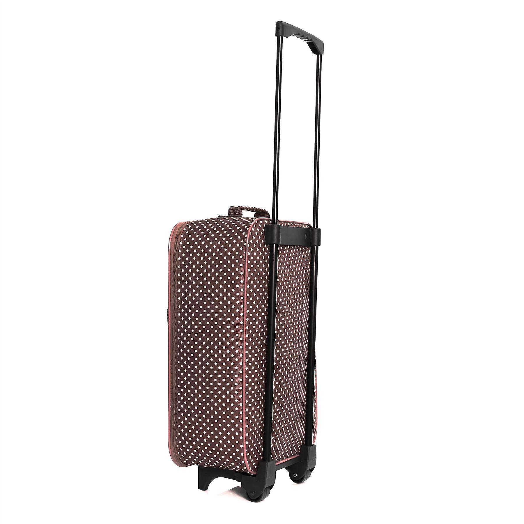 Slimbridge Barcelona Cabin Approved Bag, Red Dots