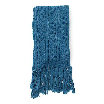 Barena Venezia Light Blue Wool Scarf