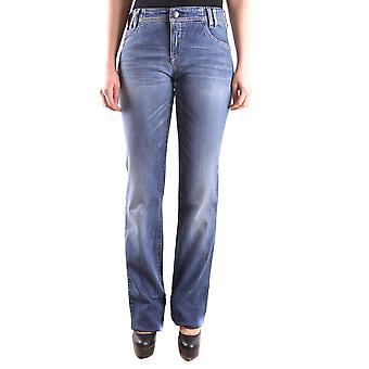 Emporio Armani Jeans blau aus Baumwolle