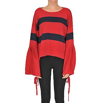 P.a.r.o.s.h. Red Cotton Sweater