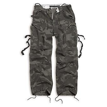Surplus men's cargo pants vintage fatigue trousers