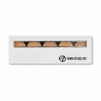 W7 Cosmetics Camouflage Kit Cream Concealer Palette
