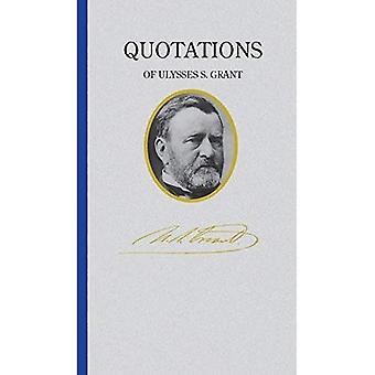 Ulysses S. Grant (Quote Book) (Great American Quote� Books)