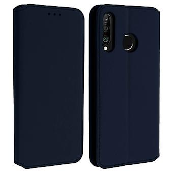 Slim Case, Classic Edition stand case with card slot for Huawei P30 Lite - Blue