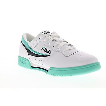 Fila Original Fitness Herren Weiß Casual Low Top Sneakers Schuhe
