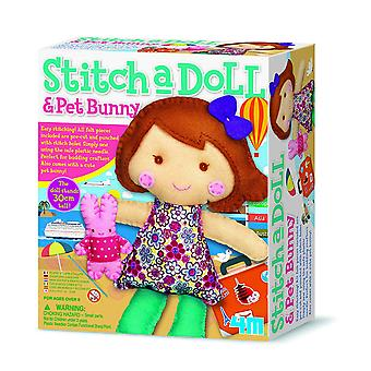 4M Stitch a Doll - Go Travelling