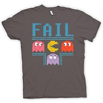 Mens t-skjorte-Pacman inspirert mislykkes - spiller