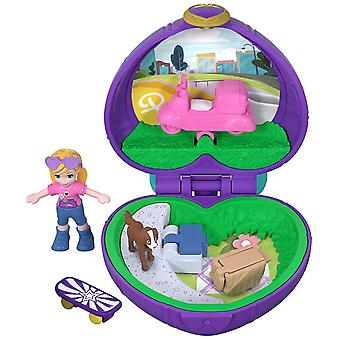 Polly Pocket Fry30 Tiny Places Picnic Compact Play Set