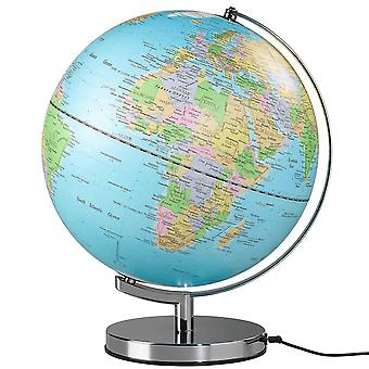 "Wild & Wolf 12"" Classic Illuminated LED Globe Light"