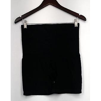 Femmes avec des culottes de contrôle Seamless Cotton Solid Jet Black A269823