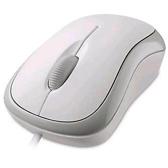 Microsoft 4yh-00008 mus USB optisk 800 dpi farge hvit