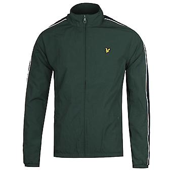 Lyle & Scott Taped Forest Green Track Jacket