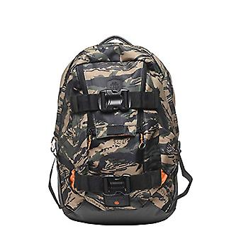 Element The Daily - Backpack Man - Schwarz Oliv Braun - One Size