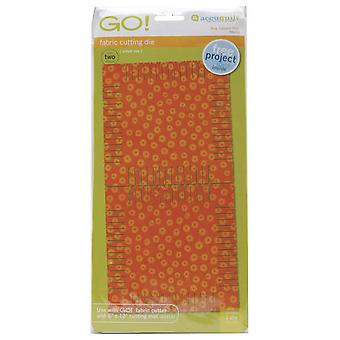 Go! Fabric Cutting Dies Rag Square 5 1 4